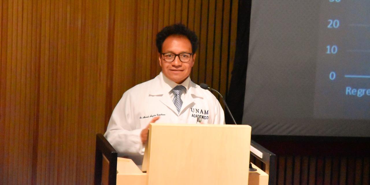 El doctor Manuel Ángeles Castellanos seguirá al frente del Departamento de Anatomía