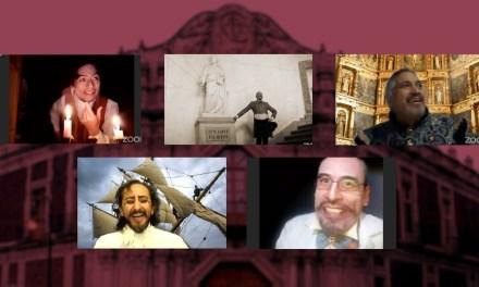 Cinco espíritus en libertad en el divino Palacio