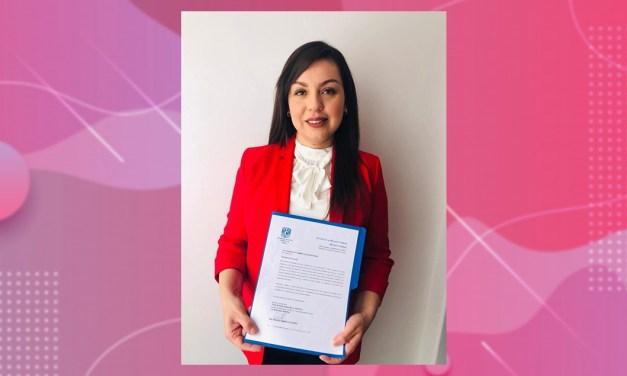 Yasmin Aguilar, nueva titular de la Secretaría Jurídica y de Control Administrativo