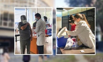 Campaña de vacunación contra la influenza en la FacMed
