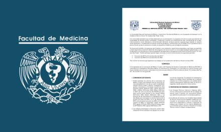 "Convocatoria Premio al Servicio Social ""Dr. Gustavo Baz Prada"" 2021"