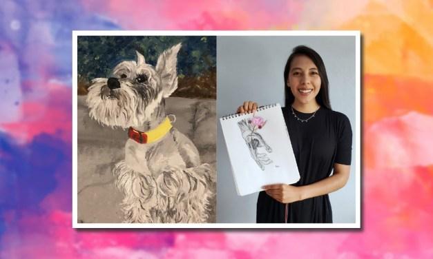 Pamela Nieto Muñoz, talento inherente por la pintura