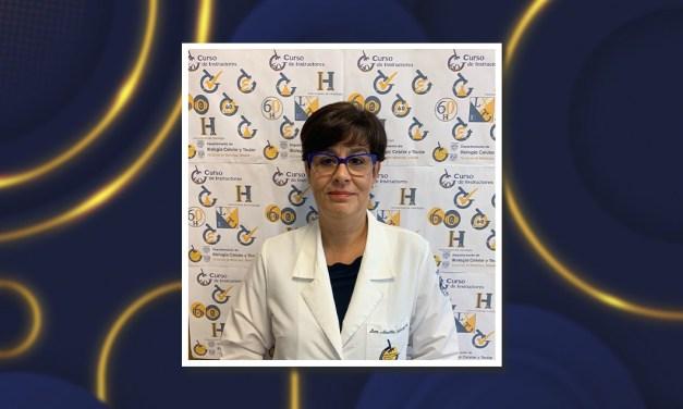 La doctora Martha Luz Ustarroz Cano, nueva Jefa del Departamento de Biología Celular y Tisular