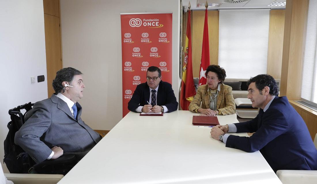 La comunidad de madrid colaborar con la fundaci n once a for Oficina de turismo de la comunidad de madrid