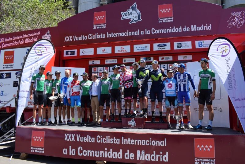 Oscar Sevilla Se Alza Con El Triunfo En La Vuelta Ciclista A La