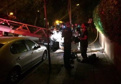 Dos mujeres heridas graves tras incendiarse su vivienda en Hortaleza
