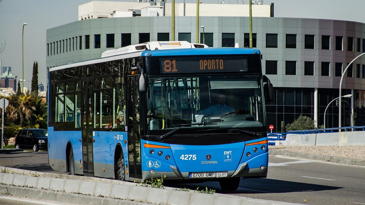 Las líneas 47, 55, 81, 247, N16 y N17 de la EMT modifican sus recorridos en su paso por la Avenida de Oporto