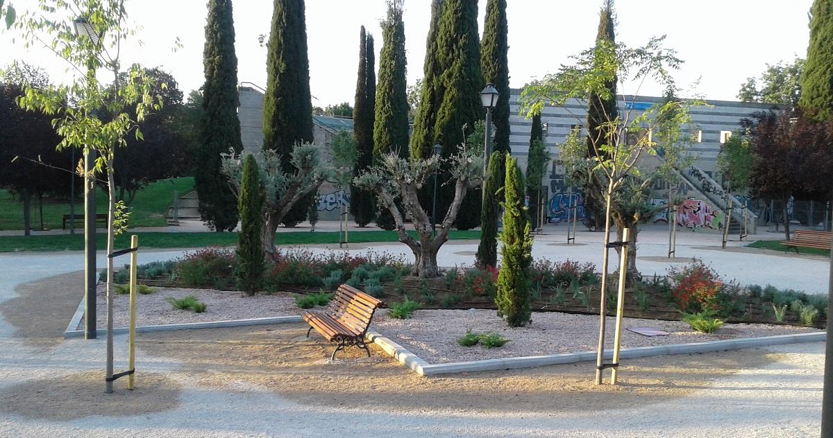 Finalizada la remodelación integral del parque Cerro Almodóvar de Latina