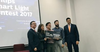 """Aluzina Madrid"" gana la primera edición del 'Philips Smart Light Contest 2017'"