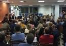 Andrea Levy participa en un encuentro con militantes y simpatizantes del PP del distrito de Salamanca