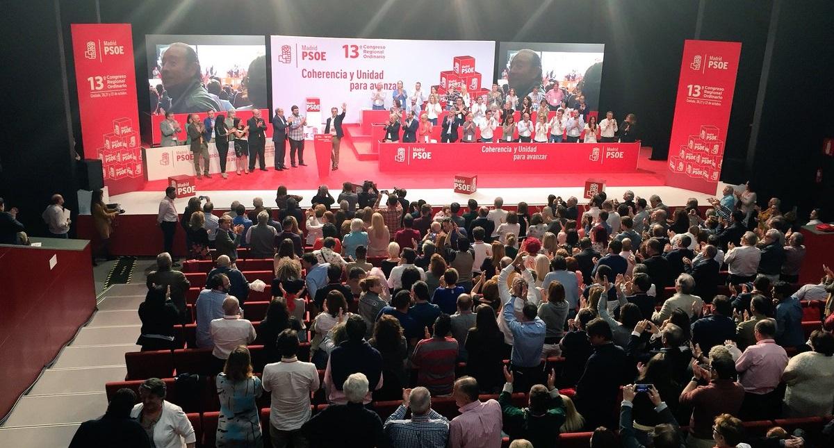 El PSOE-M celebrará una Conferencia anual y tratará la limitación de mandatos y las listas abiertas