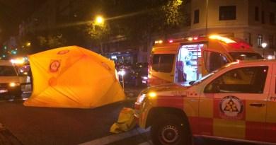 Un hombre de 68 años muy grave tras ser atropellado por un vehículo sin conductor en la calle Goya