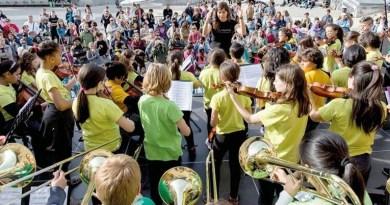 DaLaNota, un proyecto musicosocial para los más jóvenes de Centro, este viernes en la Plaza Lavapiés