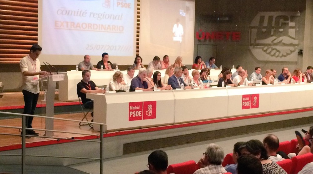 733 delegados están llamados a participar este fin de semana en el 13º Congreso Regional del PSOE-M