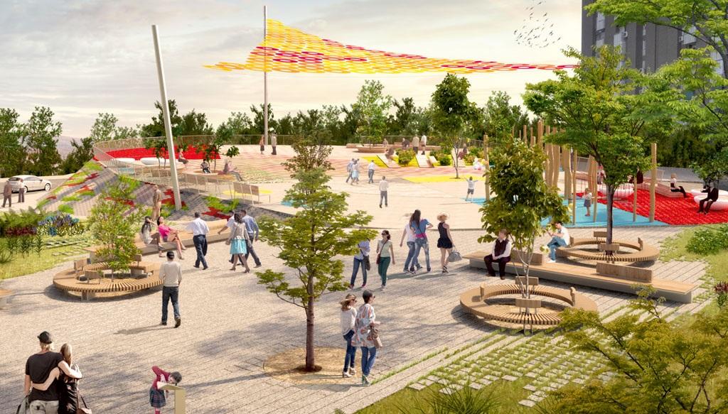 Moratalaz decide hasta el 22 de octubre cómo rehabilitar la Plaza del Encuentro