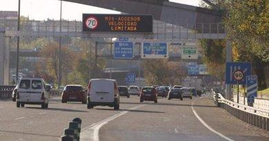 Activado el Protocolo de Contaminación: este miércoles se reduce la velocidad a 70 km/h en M-30 y accesos