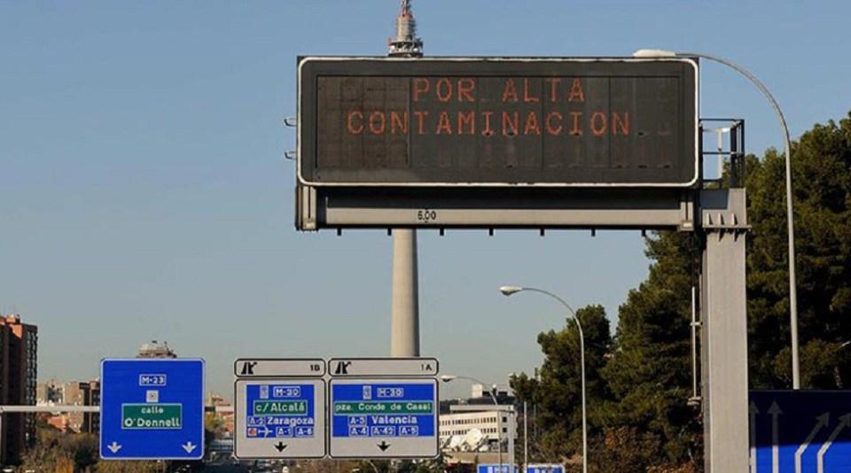 Madrid activa este miércoles el Escenario 2: no se podrá circular por la M-30 sin etiqueta de la DGT