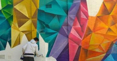 Maria Zambrano homenajeada en el nuevo mural colectivo de Valdezarza