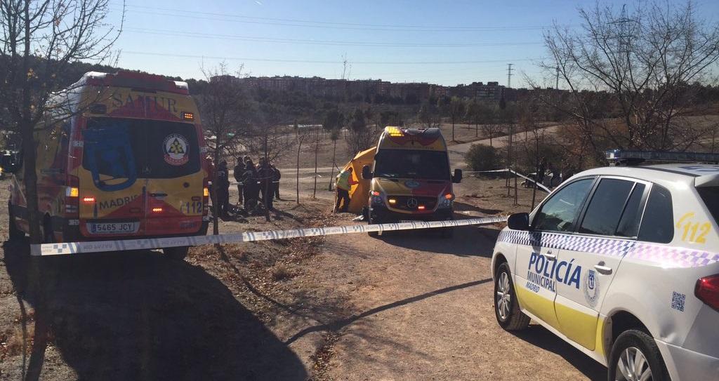 Un hombre de 64 años en estado crítico tras sufrir un accidente en Vicálvaro