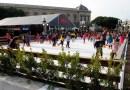 Los madrileños podrán disfrutar del patinaje sobre hielo esta Navidad en las plazas de Dalí y de Colón