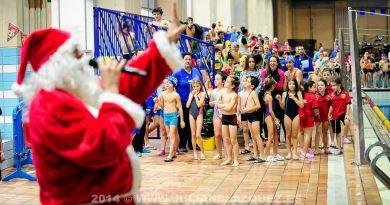 Los nadadores más pequeños disfrutarán este fin de semana del clásico Trofeo de Navidad prebenjamín