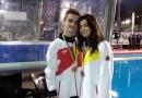 Los madrileños David Molina y Lucía Gabino, oro y plata en la Pepsi Diving Cup de natación