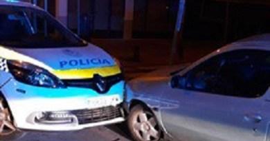 Un detenido en Puente de Vallecas tras amenazar y agredir a su pareja y embestir un coche policial
