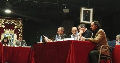 Grupo Partido Ciudadanos en el Pleno de Usera