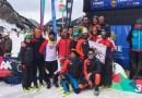 El club Tierra Trágame de Madrid, subcampeón absoluto y cadete-junior de España de esquí