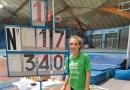 La atleta Camila Sanguino bate el récord de Madrid sub 16 de salto con pértiga