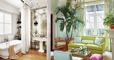 En la parte izquierda un cuarto de baño y el derecha un salón.