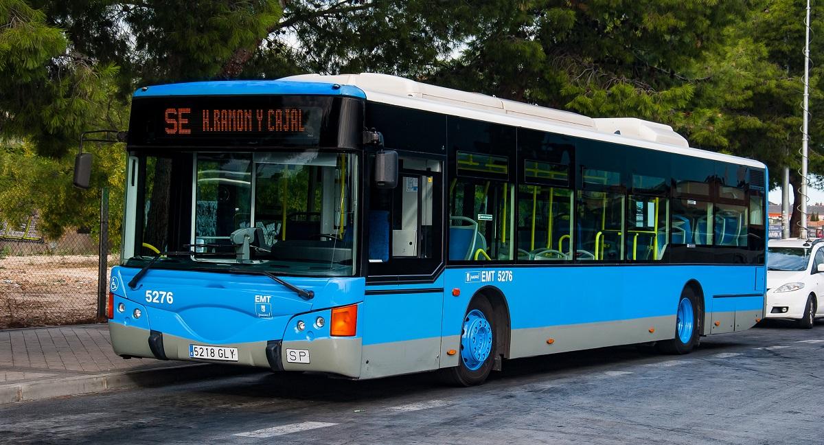 Un acto institucional inaugurará este lunes la nueva línea de la EMT entre Barajas y el Ramón y Cajal