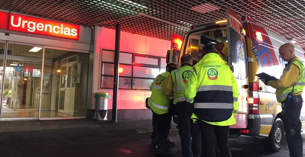 Detenido un joven de 25 años en Colmenar Viejo tras golpear y lanzar a su pareja desde una furgoneta