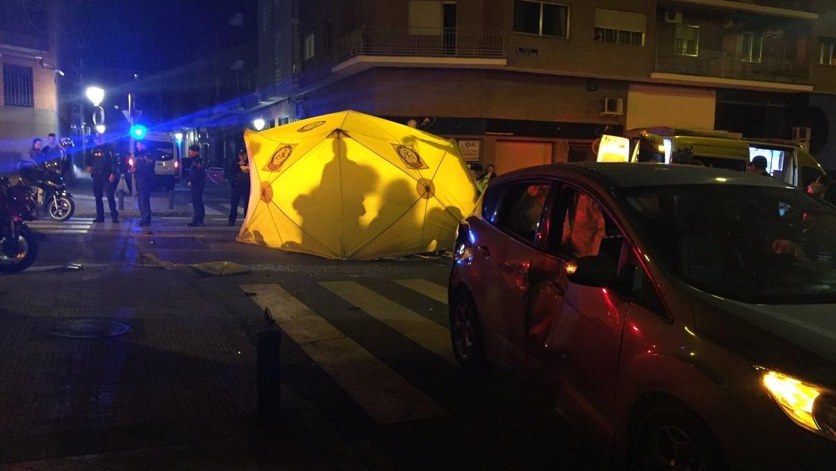 Un motorista de 29 años herido muy grave tras colisionar con un turismo en Arganzuela