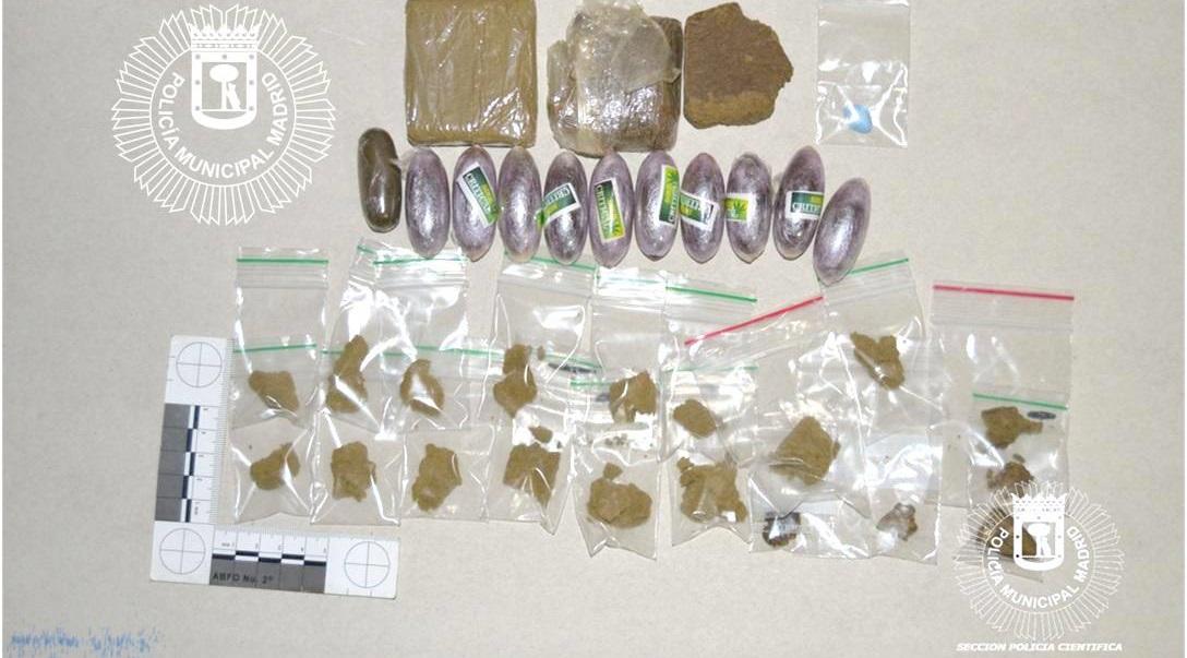 Dos detenidos en San Blas-Canillejas en una operación contra el tráfico de drogas y robo de contenedores