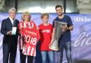 """Madrid homenajeará este viernes al Atlético con una placa en el edificio donde """"nació"""""""