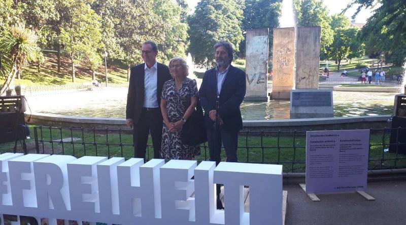 Madrid y Berlín celebran en Chamartín sus 30 años de amistad