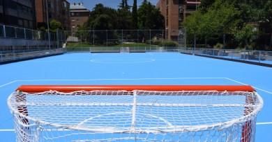 El distrito de Chamartín estrena pista de hockey sobre patines