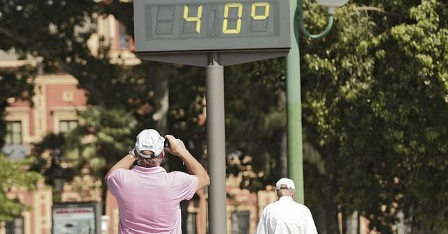 La AEMET activa el nivel de alerta amarillo por altas temperaturas en Madrid para este fin de semana