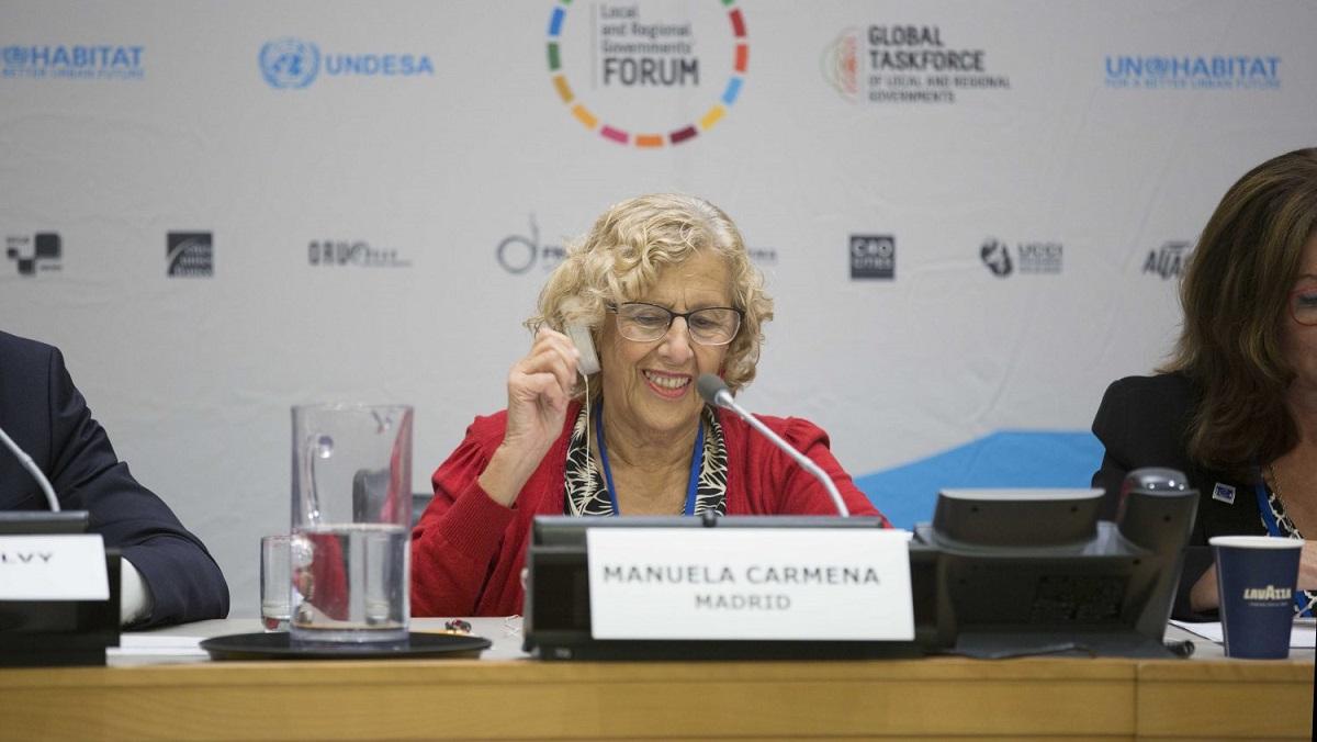 Hospitalizada Manuela Carmena tras sufrir una caída en su domicilio