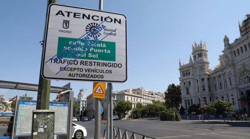 Vota en nuestra encuesta: ¿Qué te parece el plan Madrid Central para restringir el tráfico en el centro?