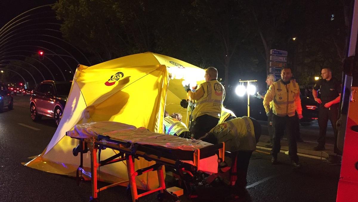 Una niña de 13 años muere tras ser atropellada frente a las fiestas del Barrio del Pilar