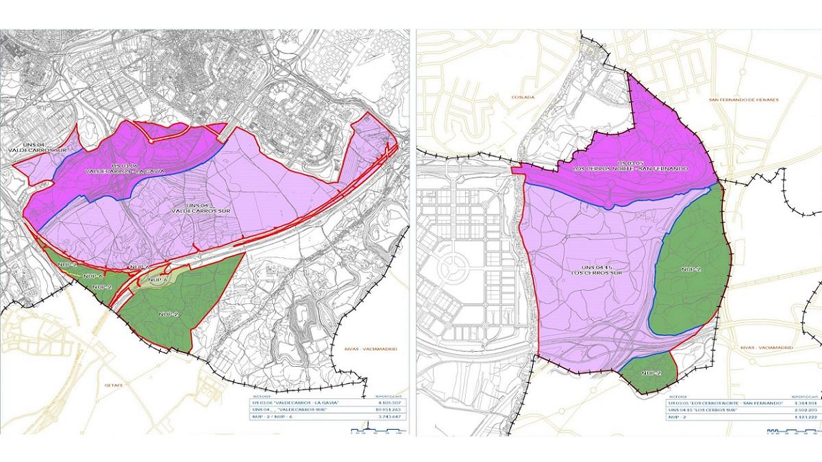 El Ayuntamiento de Madrid modifica los Desarrollos del Sureste y declara como protegidas 325 hectáreas