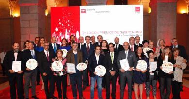 El Restaurante Santceloni, mejor cocina-restaurante en los III Premios de Gastronomía de Madrid