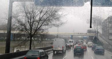 Las previsiones de lluvia pronostican un viernes 19 de octubre complicado de cara al tráfico