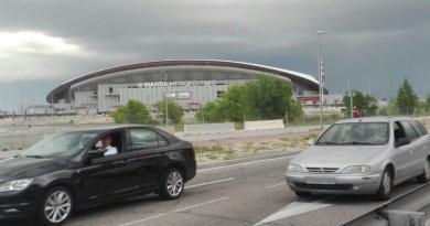 Abre el acceso de la M-40 hacia el estadio Wanda Metropolitano