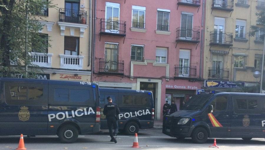 11 detenidos y 17 mujeres liberadas en una macro-operación contra la trata en Madrid