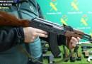 Macrooperación de la Guardia Civil contra el tráfico de armas: incautadas más de 300