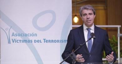 """Ángel Garrido advierte: """"No vamos a permitir que se iguale a las víctimas con los verdugos"""""""