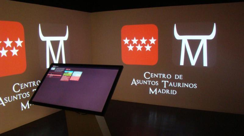 Resultado de imagen de sala inmersiva en la que los visitantes del Museo Taurino de Las Ventas